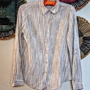 🌼 3/$32 Zac & Rachel Linen Rayon Shirt FAB!